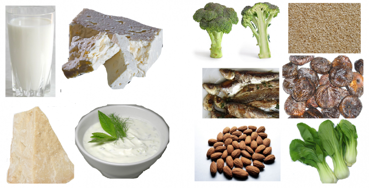 Sources de Calcium